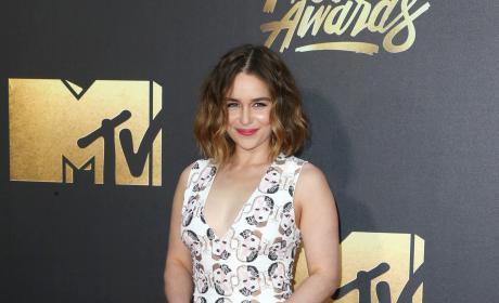 Emilia Clarke: 2016 MTV Movie Awards