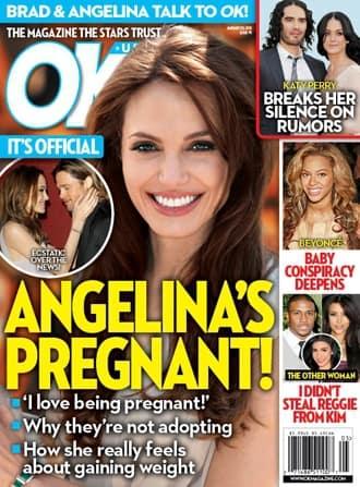 Angelina Jolie Pregnancy Story