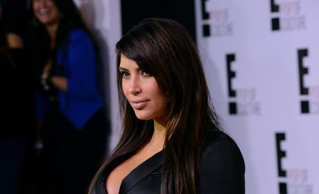 Kim Kardashian for E!