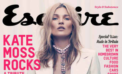 Kate Moss Esquire Cover: That is One Blinged-Out Vagina!