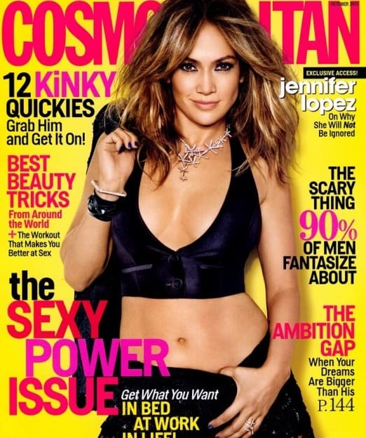 Jennifer Lopez Cosmo Cover