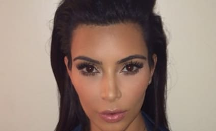 Kim Kardashian Passport Photo: The Most Kim Kardashian-Like Photo Ever!