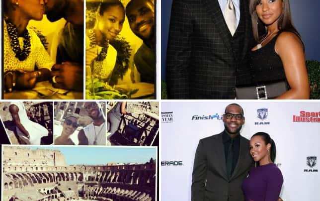 Lebron james honeymoon photos