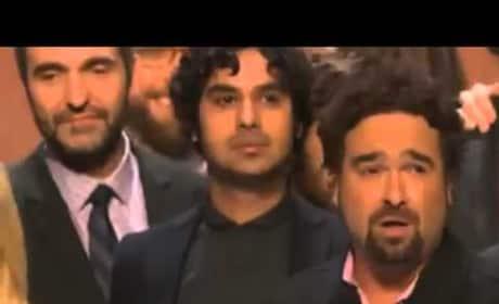 The Big Bang Theory: People's Choice Award Speech