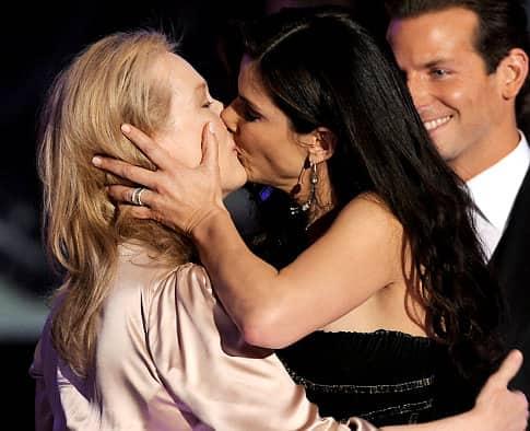Meryl Streep and Sandra Bullock