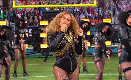 Beyonce at Halftime