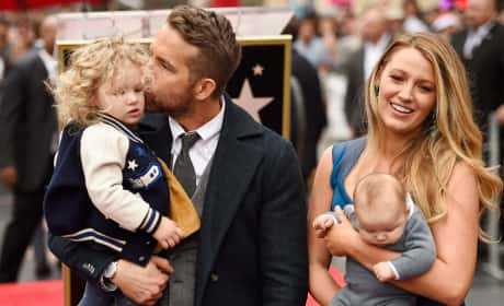 Blake Lively and Ryan Reynolds, Children