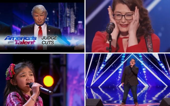 The singing trump you must watch this americas got talent auditi