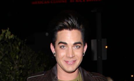 Shot of Adam Lambert