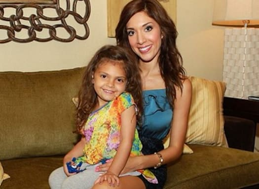 Farrah Abraham, Daughter Picture