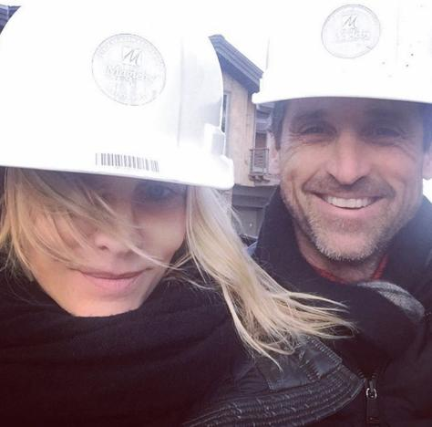Jillian and Patrick Dempsey's Selfie