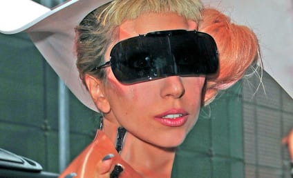 Horned This Way: Lady Gaga Visits Good Morning America, Promotes AIDS Awareness