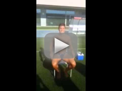 Cristiano Ronaldo Accepts Ice Bucket Challenge