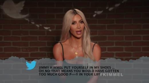 Kimmel Mean Tweets - Kim Kardashian