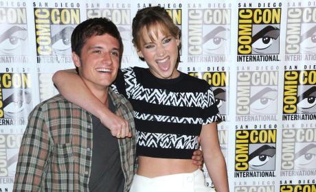 Jennifer Lawrence, Josh Hutcherson