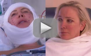 Shannon Beador and Vicki Gunvalson Wake Up From Surgery in Terrifying RHOC Clip