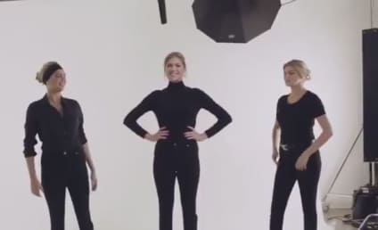 Kate Upton Dances With Kate Upton CGI Clones in Vogue, Likes Being Sexy