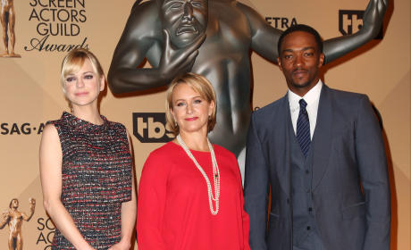Gabrielle Carteris, Jason George, Anna Faris: 22nd Annual Screen Actors Guild Awards Nominations