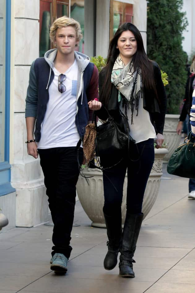 Cody Simpson and Kylie Jenner