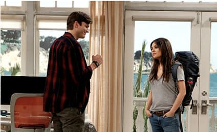 Mila Kunis on Two and a Half Men: First Look!