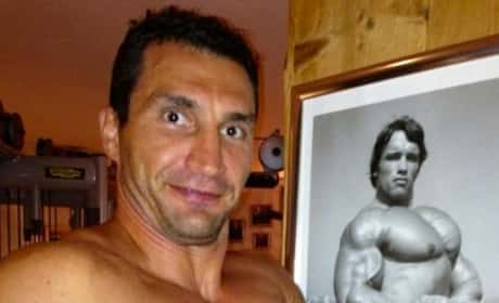 Wladimir Klitschko Shirtless