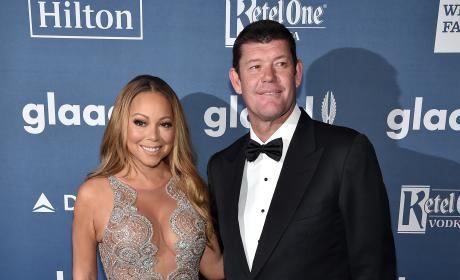 James Packer and Mariah Carey Photo