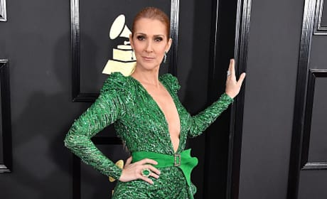 Celine Dion at Grammy Awards 2017