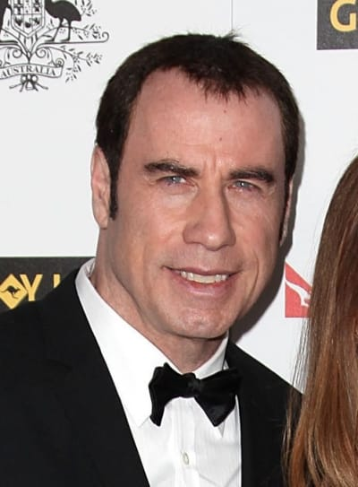 Travolta Head Shot