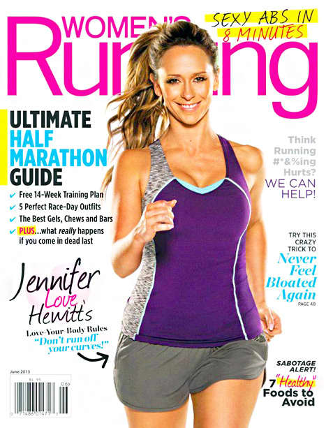 Jennifer Love Hewitt Women's Running Cover