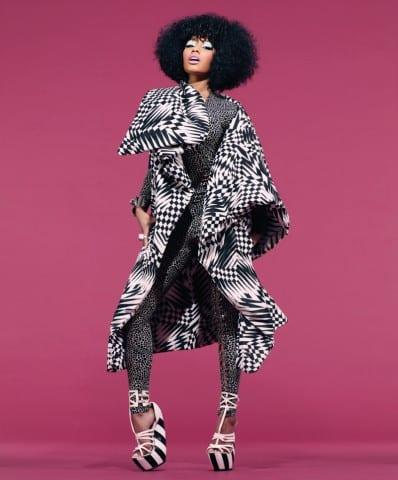 Nicki Minaj Pose