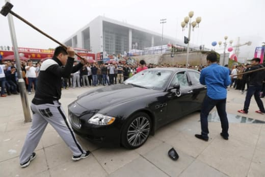 Car Smashing
