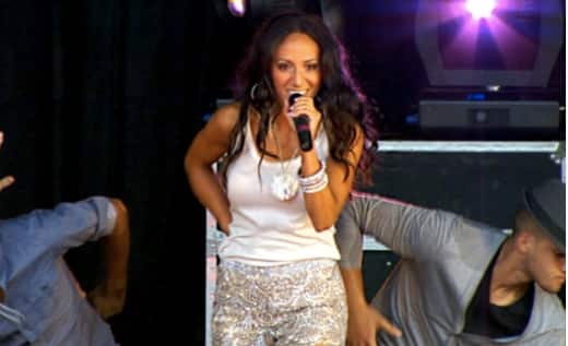 Melissa Gorga At BeatStock