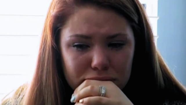 Kailyn lowry crying
