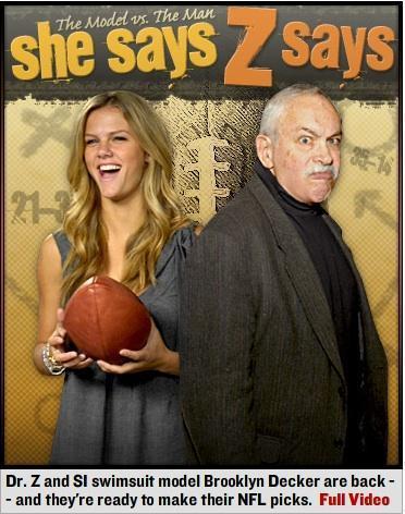 Brooklyn Decker vs. Dr. Z