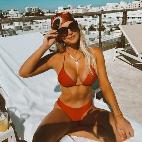 Madison LeCroy in a Red Bikini