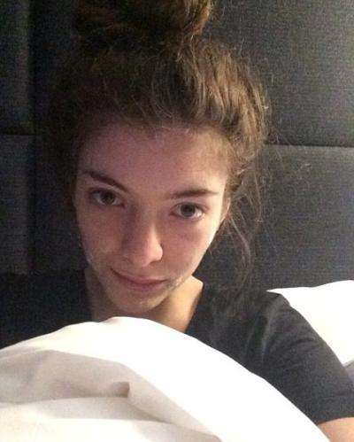 Lorde No Makeup