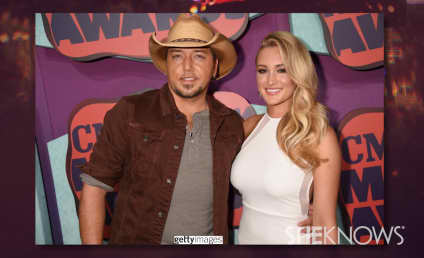 Brittany Kerr, Jason Aldean Make Red Carpet Debut at CMT Music Awards