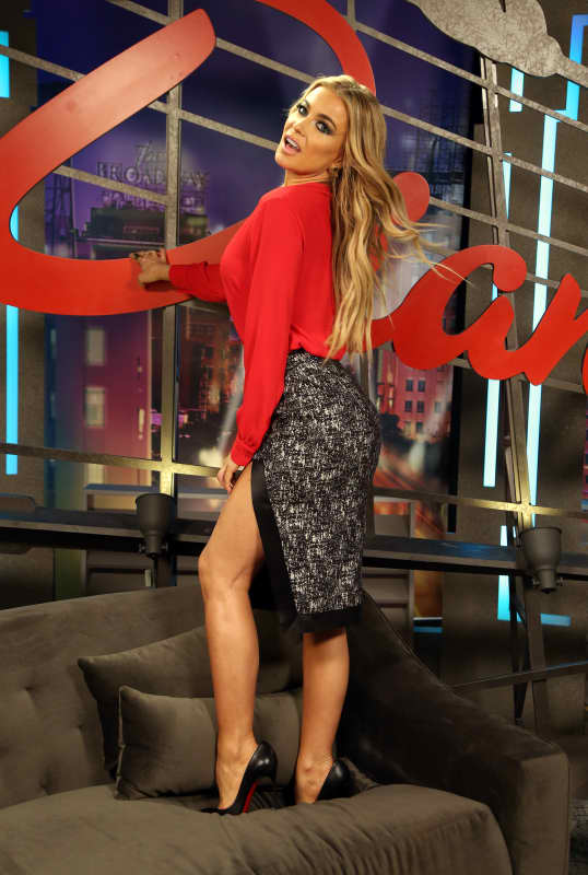 Carmen Electra Visits The Lowdown Show with Diana Madison