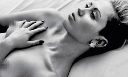 Miley Cyrus: Topless (Again) on Instagram!