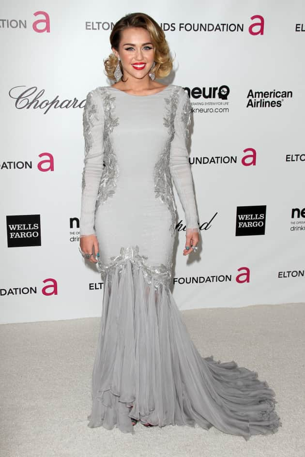 Miley Cyrus Oscars Party Pic