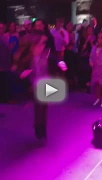 Quvenzhane Wallis Dance-Off