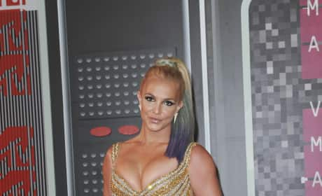 Britney Spears at the 2015 VMAs