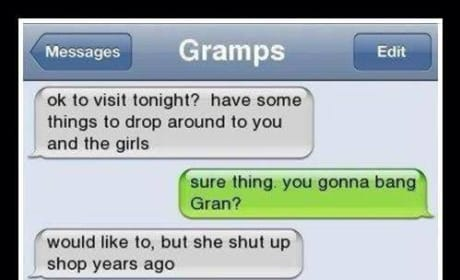 19 Reasons Grandpa Should Text ALL the Time