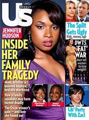 Jennifer Hudson Us Weekly Cover