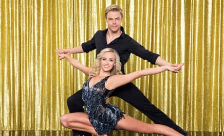 Nastia Liukin and Derek Hough