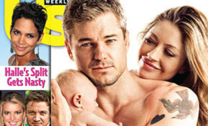 Shirtless Eric Dane, Wife, New Baby Cover Magazine