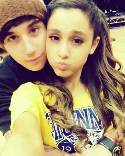 Jai Brooks and Ariana Grande