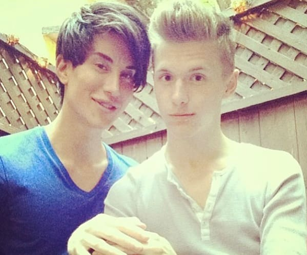 Justin Jedlica (Human Ken) and Friend