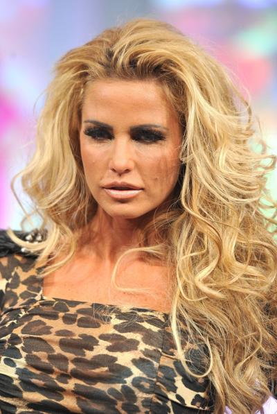 Katie Price, Spotted Shirt