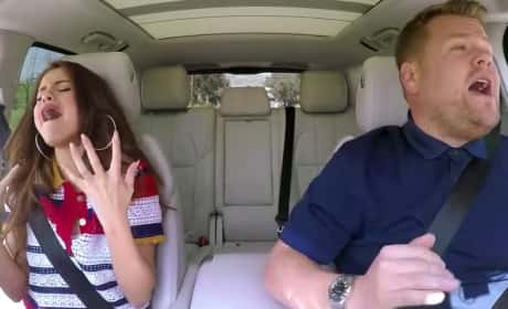 Selena Gomez Sings Carpool Karaoke!